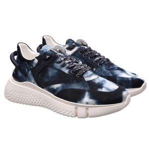 Buscemi Men's Veloce Tye Dye Sneaker Tennis Shoe
